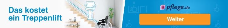 Immobilienverrentung zur Finanzierung von Umbaumaßnahmen - Treppenlift